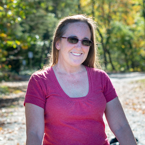 Mary Catherine Derin is seeing life in a whole new light after her treatment.
