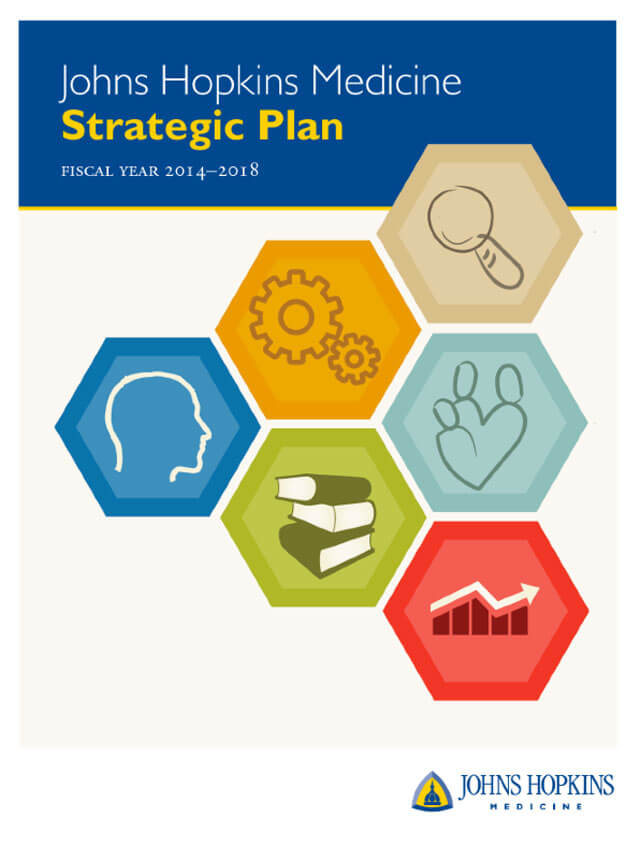 strategic planning for john hopkins As an example of successful strategic planning, this paper discusses the strategic goals of johns hopkins medicine's (jhm) strategic plan [tags: health care management, john hopkins] better essays 926 words | (26 pages) | preview.