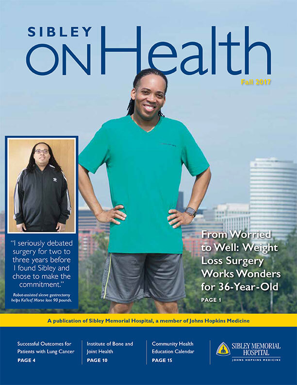 Sibley On Health Fall 2017 Cover