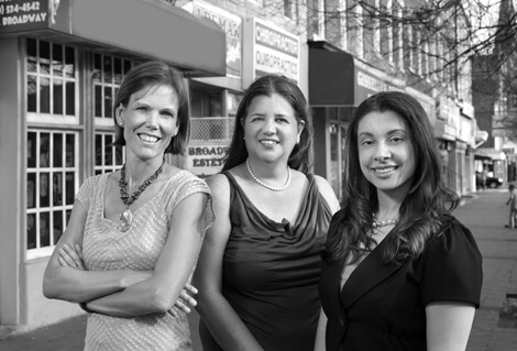 Kathleen Page, Adriana Andrade and Alicia Arbaje have spearheaded health care outreach efforts to neighboring Latinos of all ages.