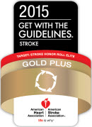 The American Heart Associations's 2015 gold plus seal
