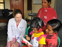 Susan Emmett seeks to mitigate hearing loss in the developing world.