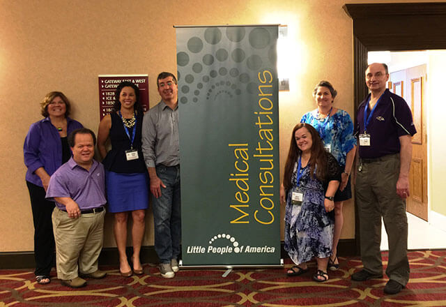 Greenberg Center for Skeletal Dysplasia faculty and staff at LPA conference 2015