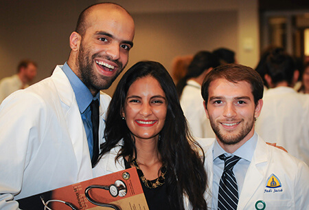 Incoming students to the Johns Hopkins University School of Medicine