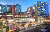 photo of new hospital buildings