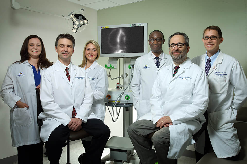 Reconstructive Microsurgical Fellowship Program | Johns Hopkins