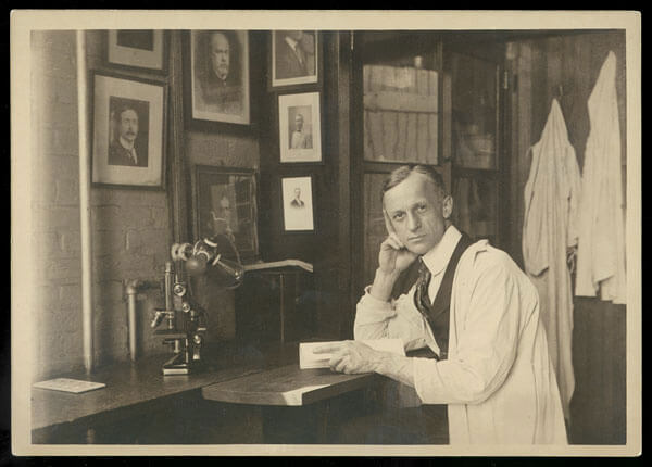 Dr. Cushing in 1907
