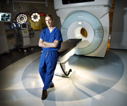 Jon Weingart and other Hopkins neurosurgeons have used their new intraoperative MRI in more than 60 cases.