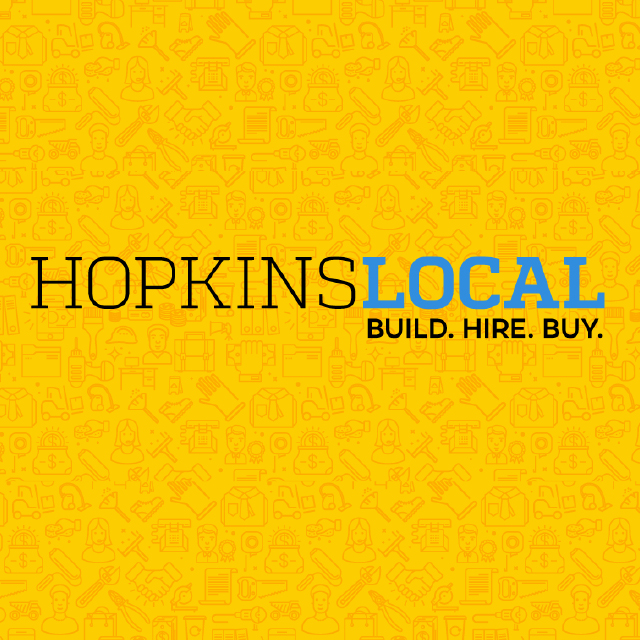 Logo of HopkinsLocal program.