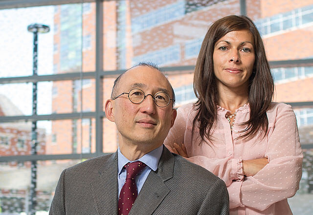 Albert Wu and Cheryl Connors, RISE program executives