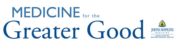 Medicine for the Greater Good logo