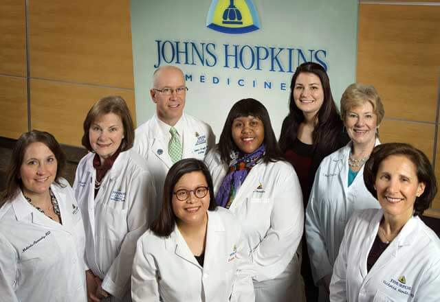 Women's Center for Pelvic Health team at Johns Hopkins.