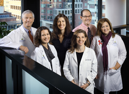 Photo of the Neurofibromatosis team