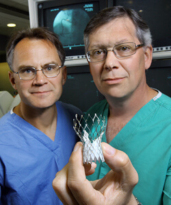 Jon Resar and John Conte say the expanded CoreValve trial can be a viable option for fragile heart patients.