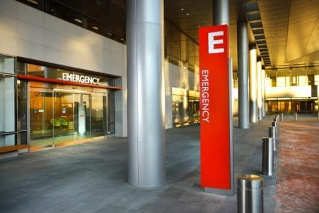 Hopkins Emergency Entrance 1