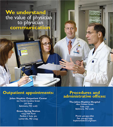 Refer a patient for cardiac surgery at Johns Hopkins: Download the brochure.