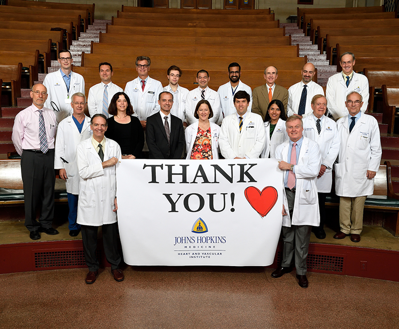 heart and vascular - Johns Hopkins Heart and Vascular Institute Team