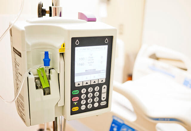 integrated infusion pump prototype johns hopkins armstrong institute