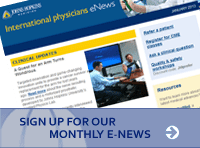Sign Up for Our Monthly E-News