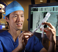 Ying-Wei Lum says aneurysms are being discovered more frequently because of CT imaging for other health problems.