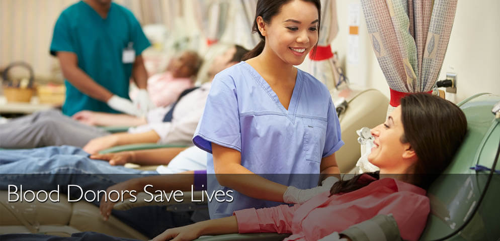 Blood Donors Save Lives
