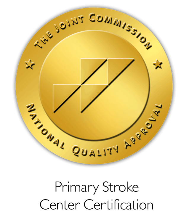 Primary Stroke Center Certification gold seal