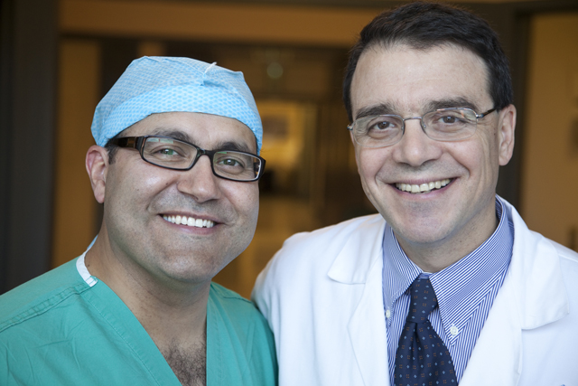 Drs. Salvatori and Quinones-Hinojosa