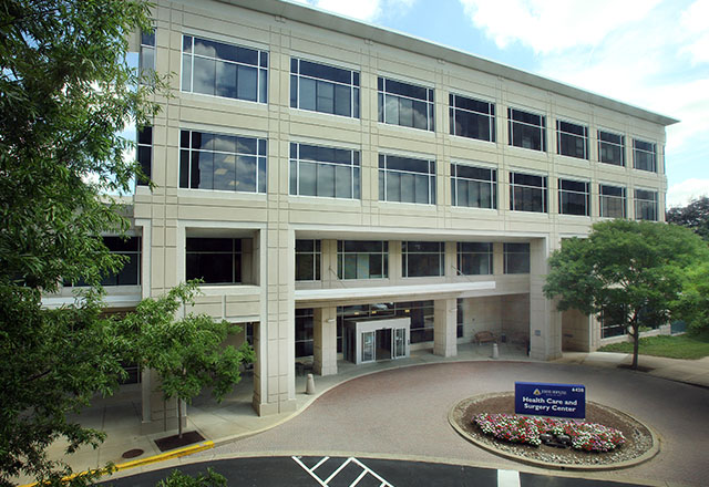 Johns Hopkins Medical Imaging at Bethesda building