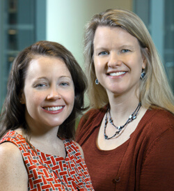 Colleen Shreyer and Janelle Coughlin