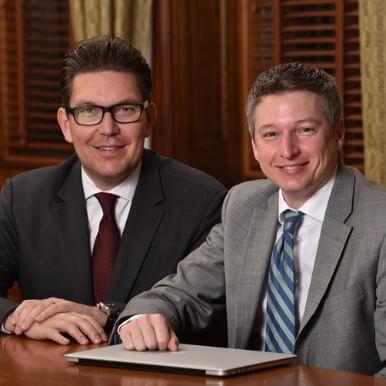 Two transplant surgeons