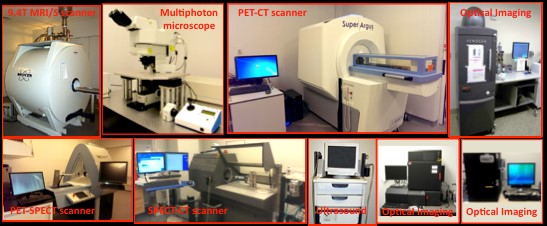 photo of medical imaging equipment at the MRB lab