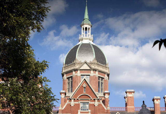 Johns Hopkins dome