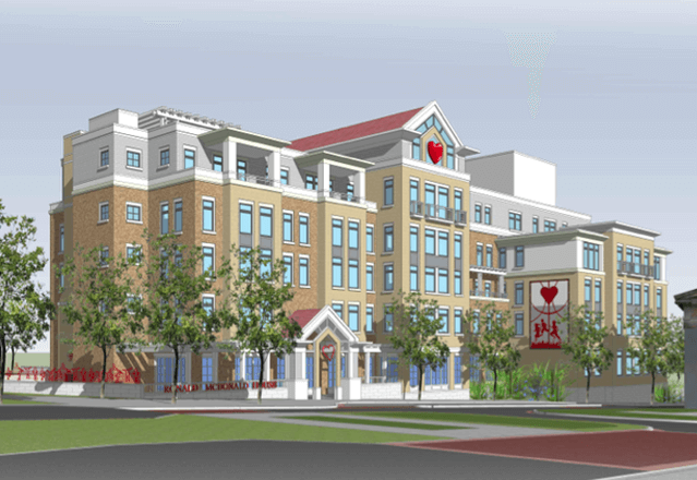 new Ronald McDonald house