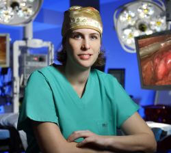 Gastrointestinal surgeon Anne Lidor