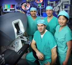 Ralph Tufano Jeremy Richmon, Martha Zeiger, Alan Dackiw, thyroid and parathyroid surgery team
