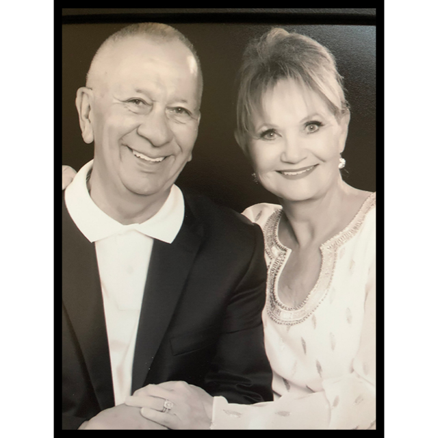 A photo shows Richie and Kathy Amato.