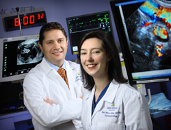 Chris Wolfgang and Anne Marie Lennon are part of Johns Hopkins' multidisciplinary team formed specifically to diagnose, study and treat pancreatic cysts.