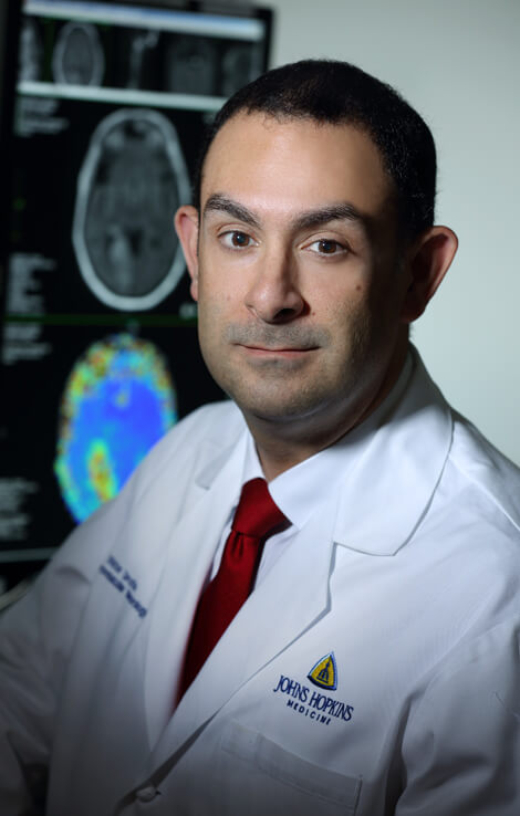 Victor Urrutia directs The Johns Hopkins Hospital Stroke Center.