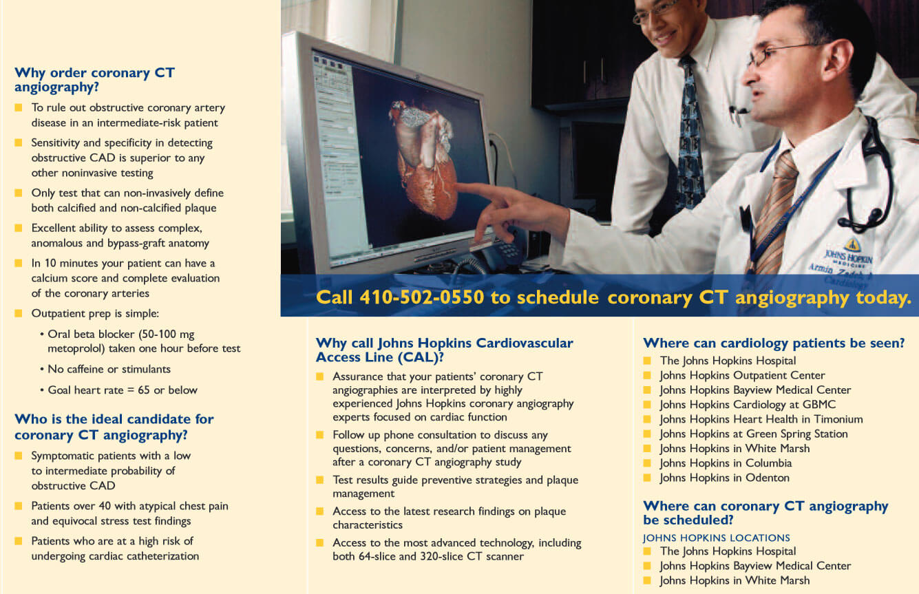 Coronary CT Angiography Brochure