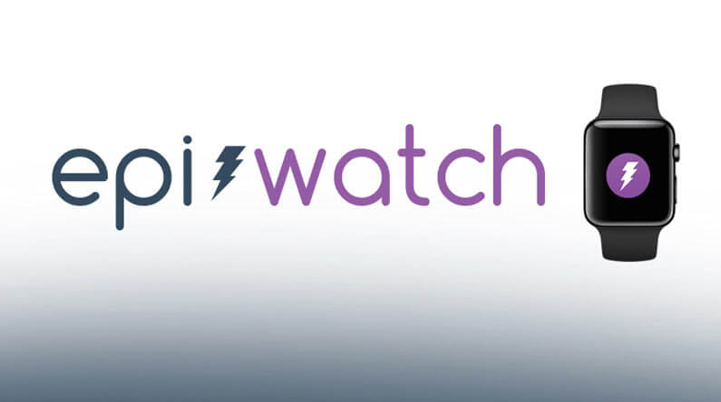 epi watch logo with an apple watch