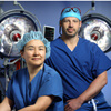 Neurosurgeon Judy Huang and craniofacial plastic surgeon Chad Gordon