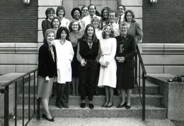 original Dana Center staff