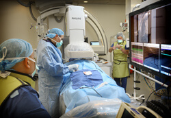 The Cardiac Electrophysiology lab