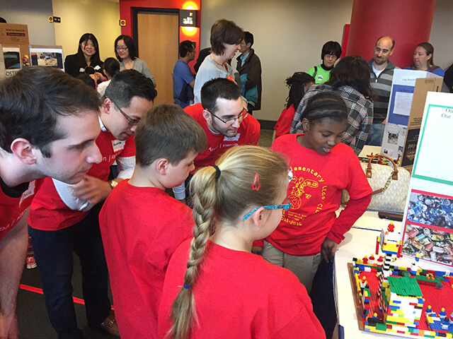 FIRST LEGO competition