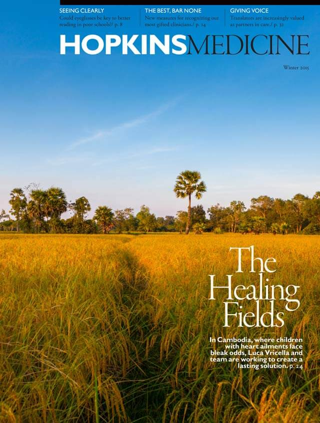 Winter 2015 Cover with healing fields