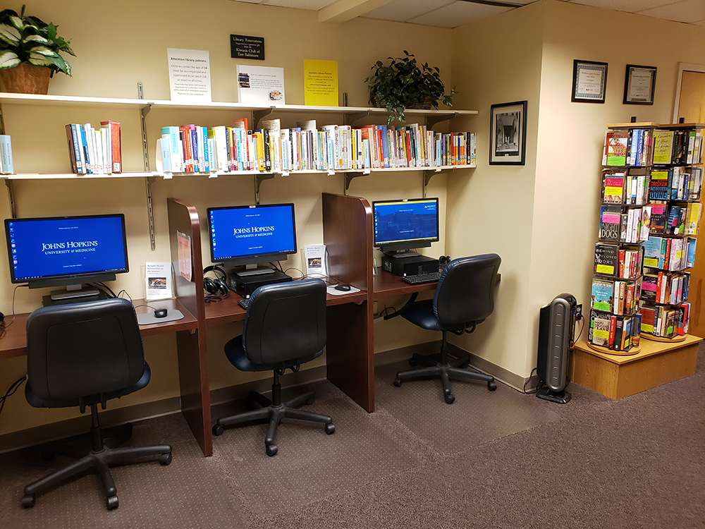 Johns Hopkins Bayview's Community Health Library
