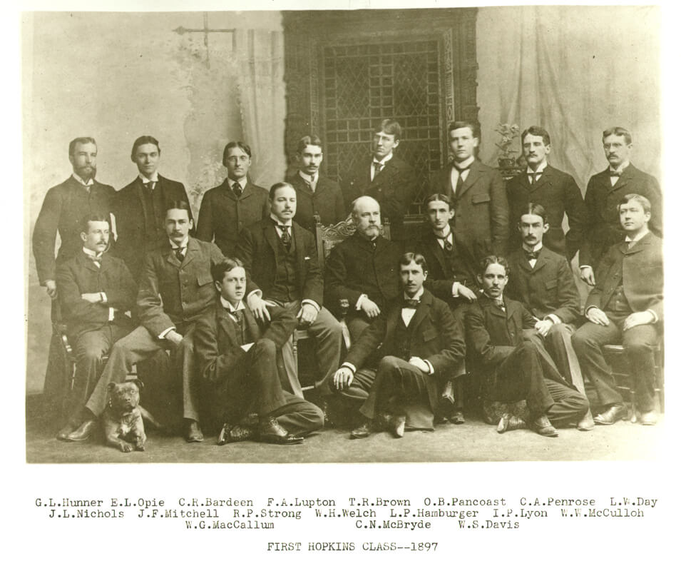 First School of Medicine Class