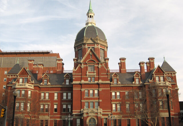 johns hopkins hospital building
