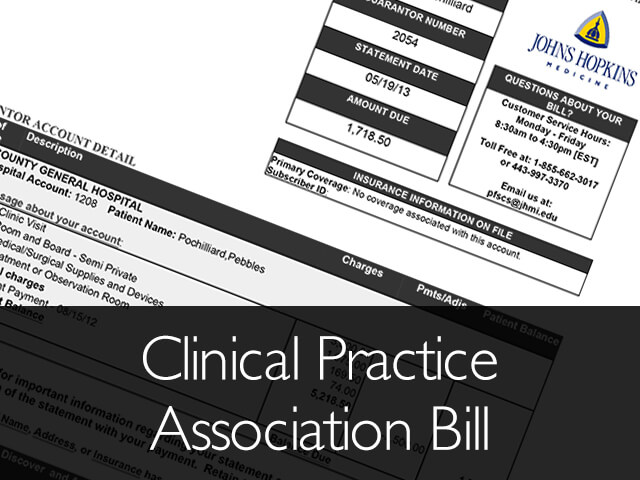 Clinical Practice Association Bill