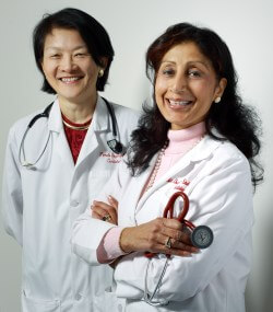 Pamela Ouyang and Nisha Chandra-Strobos say that in women, heart disease is still under-recognized.